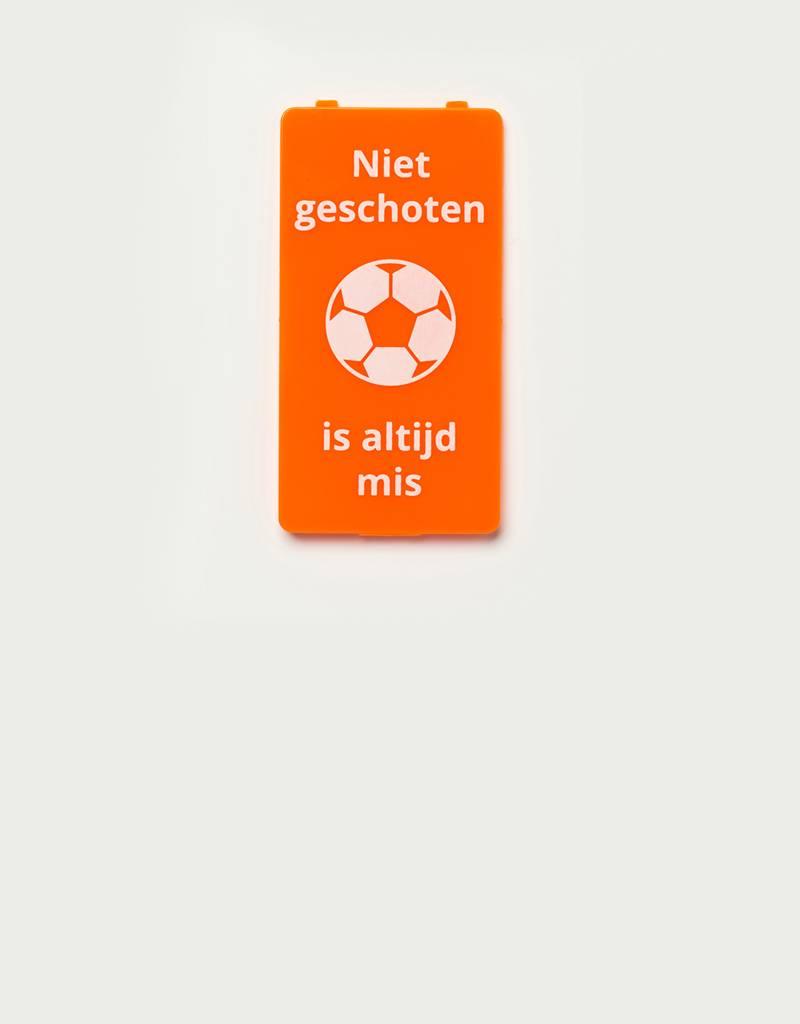 YOU·P® YOU·P® cover | orange | Niet Geschoten Is Altijd Mis