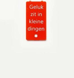 YOU·P® Red | Geluk Zit In Kleine Dingen