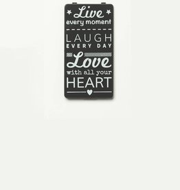 YOU·P® Gray | Live Laugh Love