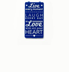 YOU·P® Blauw | Live Laugh Love