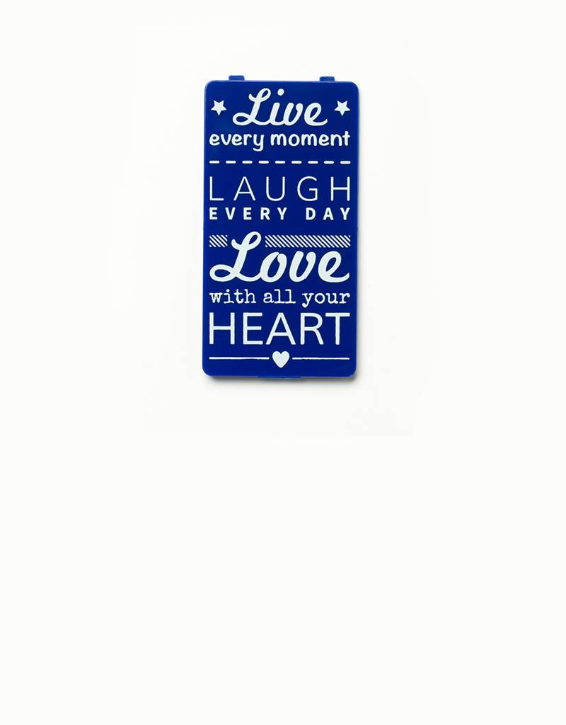 YOU·P® YOU·P® cover | blue | Live Laugh Love