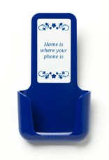 YOU·P® YOU·P® smartphone holder | blue holder | blue cover | Home Is Where Your Phone Is