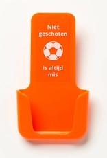 YOU·P® YOU·P® smartphone holder | orange holder | orange cover | Niet Geschoten Is Altijd Mis