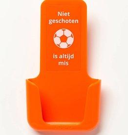 YOU·P® YOU·P® smartphonehouder | oranje | Niet Geschoten