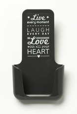 YOU·P® YOU·P® smartphonehouder | grijs | Live Laugh Love