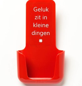 YOU·P® YOU·P® smartphone holder | red | Geluk Zit In Kleine Dingen