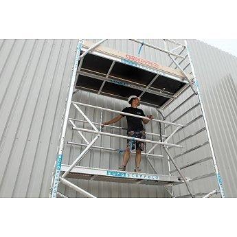 Euroscaffold Rolsteiger voorloopleuning 190 cm