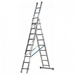 MAXALL®  MAXALL®  Driedelige Rechte Reformladder 3x8 (max. werkhoogte 7 meter)
