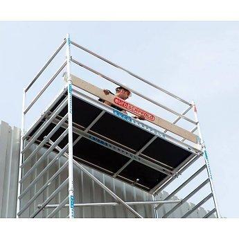 Euroscaffold Houten Kantplankset Rolsteiger 250 x 135 cm