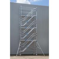 Euroscaffold Trappentoren 135 x 250 x 10,2m werkhoogte