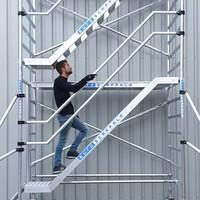 Euroscaffold Trappentoren 135 x 250 x 8,2m werkhoogte