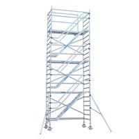 Euroscaffold Trappentoren 135 x 250 x 12,2m werkhoogte