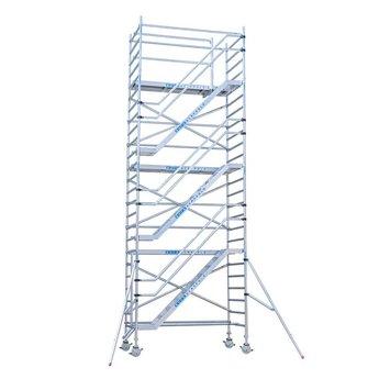 Euroscaffold Trappentoren 135x250x12,2m werkhoogte