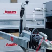 Euroscaffold Anssems PSX2000.305 + Basis rolsteiger met vario voorloopleuning 135x250x10,2m werkhoogte