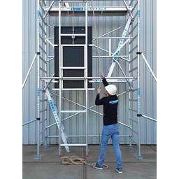 Euroscaffold Solarlift 12,2 meter werkhoogte