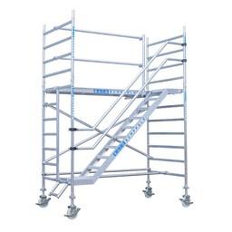 Euroscaffold Trappentoren 135x250x4,2m werkhoogte