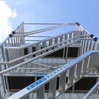 Euroscaffold Trappentoren 135 x 250 x 4,2m werkhoogte