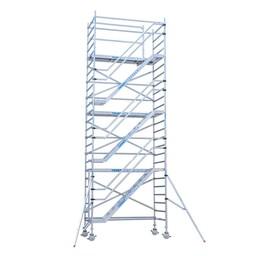 Euroscaffold Trappentoren 135x250x14,2m werkhoogte