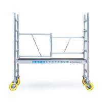 Euroscaffold Tuinsteiger 75x190x3m inclusief tuinsteigerwielen