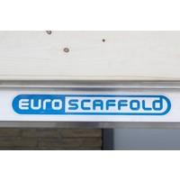 Euroscaffold Basis rolsteiger met vario voorloopleuning 90x190x8,2m werkhoogte