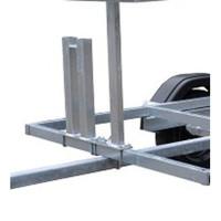 Steigeraanhanger + Rolsteiger Standaard 135 x 305 x 12,2 meter werkhoogte