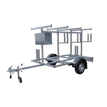 Steigeraanhanger 305 + Rolsteiger Standaard 135 x 305 x 12,2 meter werkhoogte