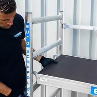Euroscaffold MaandActie: EVO Kamersteiger | max. werkhoogte 3 meter