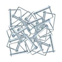 Euroscaffold Set Borgclip / Borgpen - 25 stuks