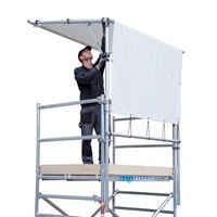 Euroscaffold Rolsteiger Regen Doorwerktent 305 cm