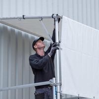 Euroscaffold Rolsteiger Regen Doorwerktent 250 cm
