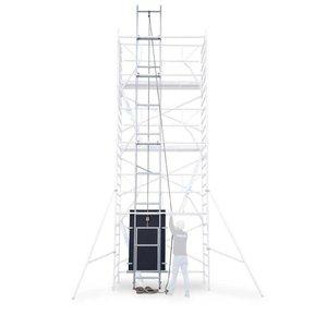 Solarlift 10,2 meter werkhoogte