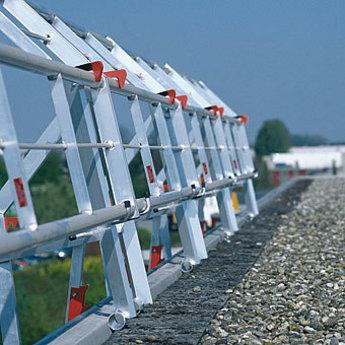 RSS Dakrandbeveiliging RSS dakrandbeveiliging complete set 2x6 meter