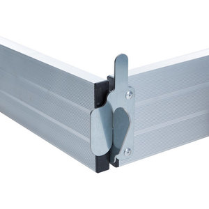 Aluminium Kantplankset Rolsteiger 250 x 75 cm