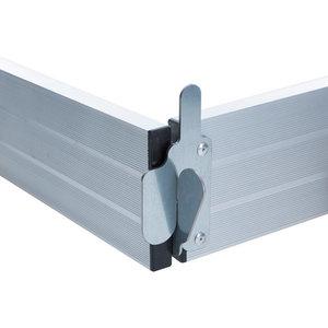 Aluminium Kantplankset Rolsteiger 250 x 135 cm