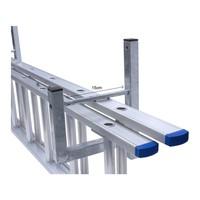 Ladder ophangbeugel / muurbeugel 3-delig