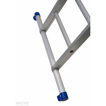 Solide 4-delige ladder 4 x 10