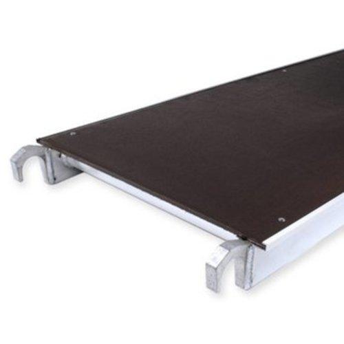 Euroscaffold Losse plaat voor rolsteiger platform 190 cm met luik