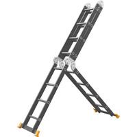 Panthera Vouwladder 4x4 met wieltjes en platform