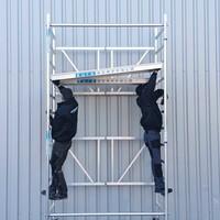 Euroscaffold Kamersteiger Combi 135x190x4,7m werkhoogte