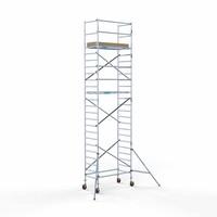 Euroscaffold Steigeraanhanger +  Basis Rolsteiger 90 x 190 x 8,2 meter