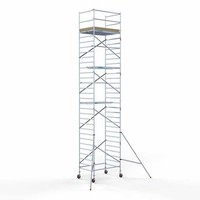 Euroscaffold Steigeraanhanger +  Basis Rolsteiger 135 x 190 x 10,2 meter