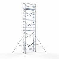 Euroscaffold Steigeraanhanger + Rolsteiger Compleet 75 x 250 x 10,2 meter werkhoogte