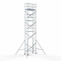 Euroscaffold Steigeraanhanger + Rolsteiger Compleet 90 x 190 x 10,2 meter werkhoogte