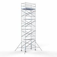 Euroscaffold Steigeraanhanger + Rolsteiger Compleet 135 x 250 x 10,2 meter werkhoogte