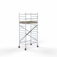 Euroscaffold Steigeraanhanger +  Basis Rolsteiger 135 x 190 x 5,2 meter