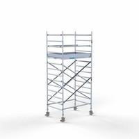 Euroscaffold Steigeraanhanger + Rolsteiger Compleet 135 x 190 x 5,2 meter werkhoogte