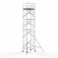 Euroscaffold Steigeraanhanger +  Basis Rolsteiger 135 x 190 x 11,2 meter
