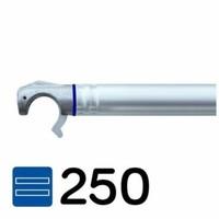 Euroscaffold Steigeraanhanger 250 + Rolsteiger Voorloopleuning Enkel 135 x 250 x 10,2 meter