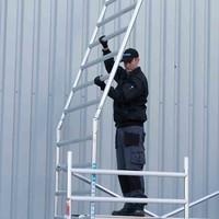 Euroscaffold Rolsteiger Compleet 75 x 250 x 6,2m werkhoogte