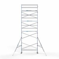 Euroscaffold Rolsteiger Compleet 75 x 305 x 10,2m werkhoogte